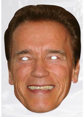 Arnold Schwarzenegger Card Face Mask