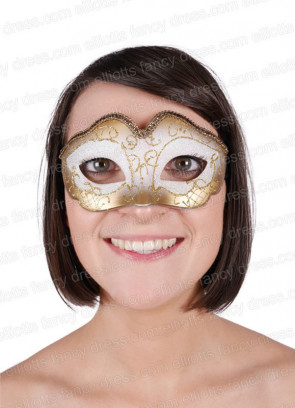 Aurora Gold Eye Mask