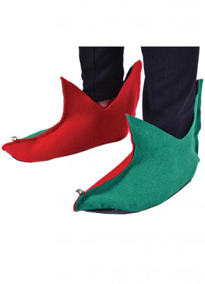 Elf Shoes (Red/Green)
