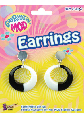 60s Mod Earrings