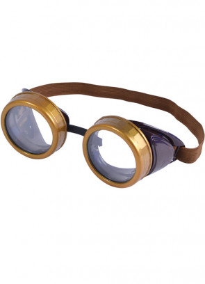 Steampunk (Biggles Pilot or Biker) Goggles
