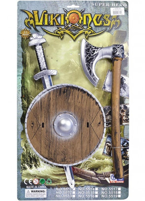 Kids Viking Weapon Set - Assorted