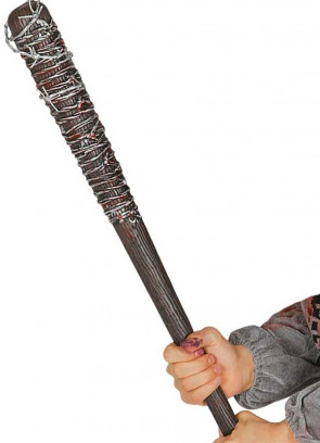 Baseball Bat with Barbed Wire 74cm