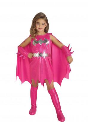 Batgirl Pink Costume