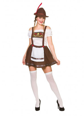 Bavarian Beer Maid - Brown