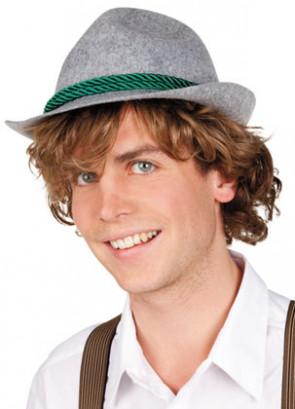 Bavarian Hat - Oktoberfest (Grey)