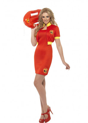 Baywatch Lifeguard (Dress) Costume