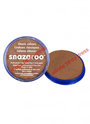 Snazaroo Beige Brown Face Paint  18ml