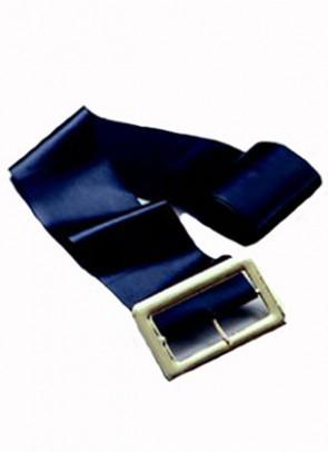 "Santa or Pirate Belt (Basic Black) 39""-50"""