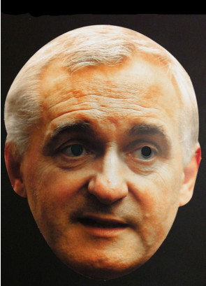 Bertie Ahern Cardboard Mask