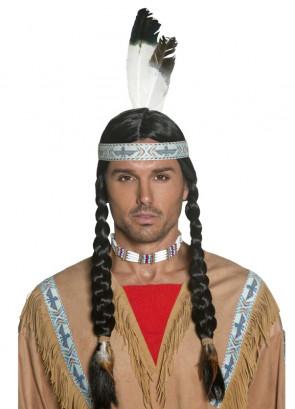 Indian Wig - Black Plaits