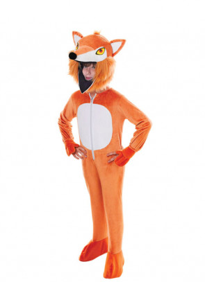 Fox Big-Head Costume