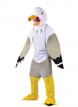 Big-Head Seagull
