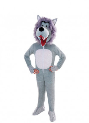 Wolf Big-Head Costume