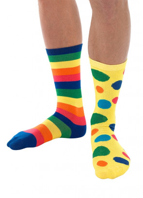 Big Top Clown Socks