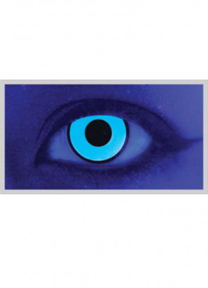 Billy Boy Blue UV Contact Lenses - 3 Month Wear