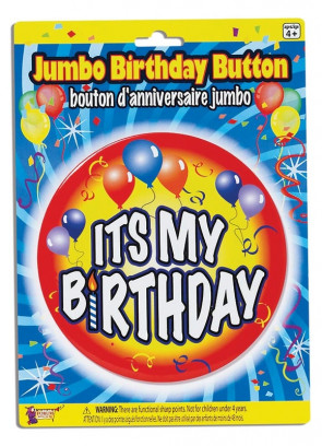 Birthday Badge – It's My Birthday!
