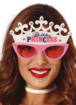 Birthday Princess Tiara Glasses