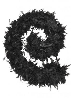 Feather Boa Black 80g