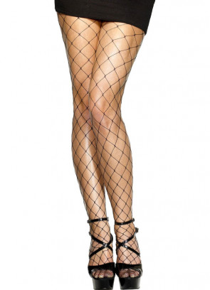 Black Diamond Fishnet Tights - Dress Size 6-18