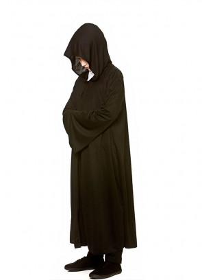 Hooded Robe Kids (Black)