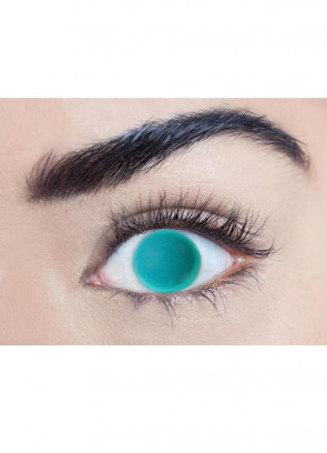 Blind Green Contact Lenses - One Day Wear