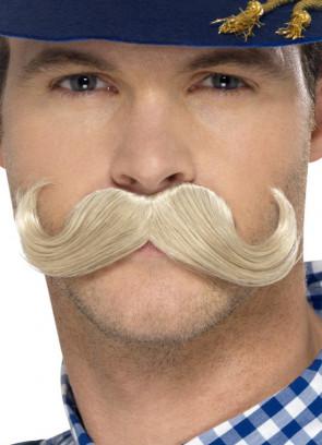 Blonde Bavarian Oktoberfest Moustache