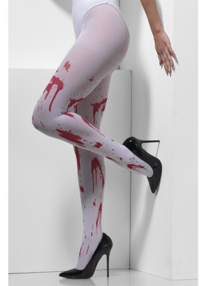 Blood Splatter Tights - Dress Size 6-14