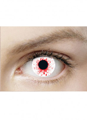 Blood Shot Drops Contact Lenses - 3 month wear