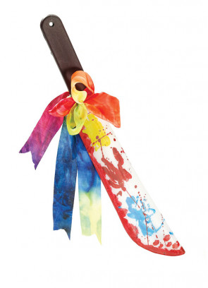Bloody Clown Machete - 50cm