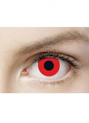 Bloody Red Contact Lenses - 3 Month Wear