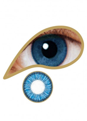 Blue Coloured Contact Lenses - 3 Month Wear