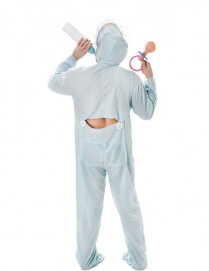 Blue Baby Onesie Costume