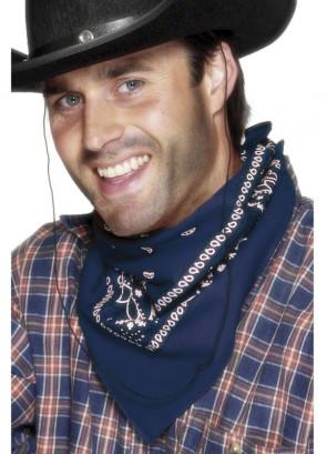 Cowboy Bandana (Blue)
