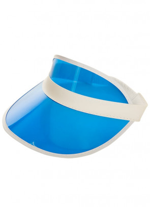 Blue Poker/Golf Visor