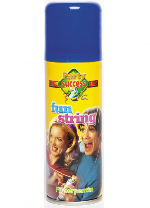 Silly String (Blue)