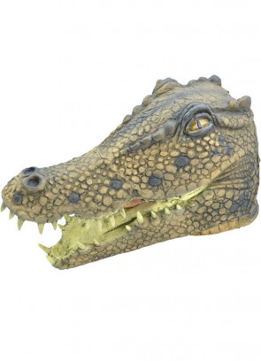Crocodile Rubber Mask