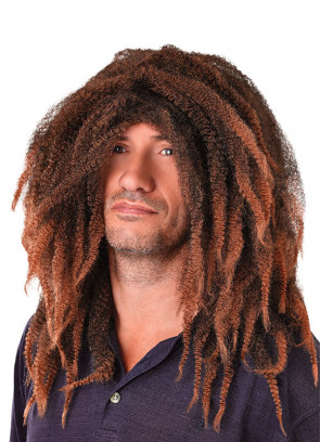 Bob Marley - Brown Dreadlocks Wig