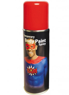 Body Paint Spray – Red
