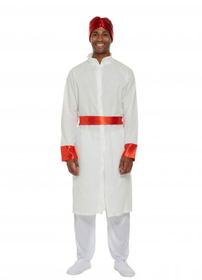 Bollywood Man (White) Costume