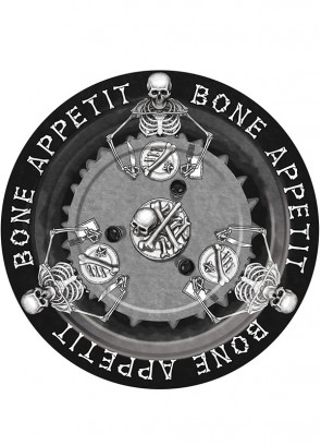 Bone Appetit Large Paper Plate (8 Pack)