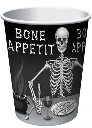 Bone Appetit Paper Cups (8pk)