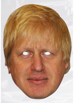 Boris Johnson Card Face Mask