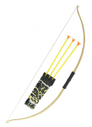 Wooden Effect Bow and Arrow