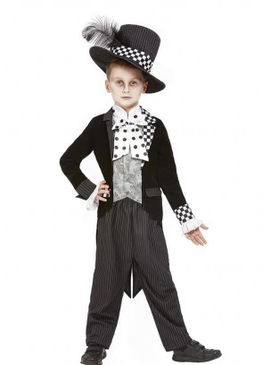 Boys Dark Mad Hatter Costume