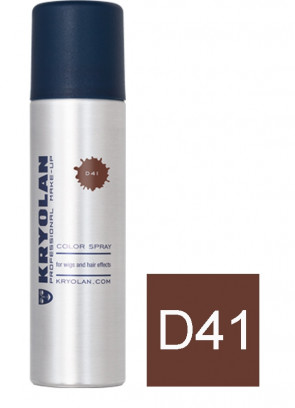 Kryolan Color Hair Spray (Brown D41)