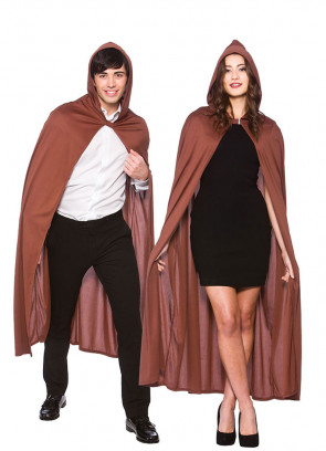 Fellowship Hooded Cape Brown (Adult)