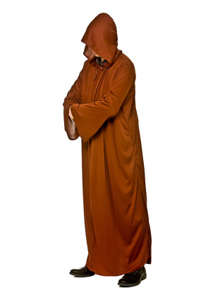 Adults Brown Hooded Cloak - Monster-Family