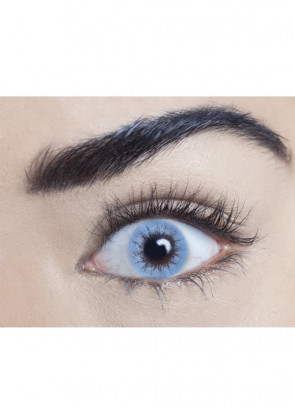 Buckingham Blue Coloured Contact Lenses - One Day Wear