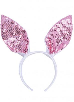 Bunny Ears - Pink Sequin